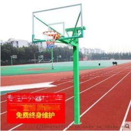 優質150方管籃球架 固定籃球架 比賽用籃球架廠家