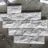 厂家直销天然白色蘑菇石 别墅小区外墙园林围墙装饰
