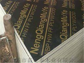 柳州建築模板高周轉木覆膜板