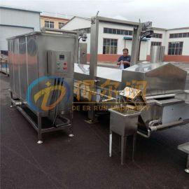 萝卜丸子油炸生产线 自动炸肉丸机器 DR-1油炸机