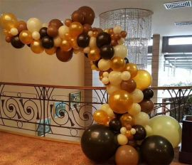 昆明花語花香寶寶宴氣球裝飾百日宴氣球布置生日氣球