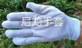 学校礼仪专用高弹丝手套