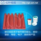 塑膠玩具、PVC玩具移印矽膠