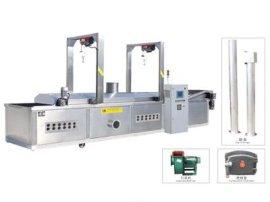 佳特JTLD-6000网带式导热油炉加热油炸流水线(JTLD系列)