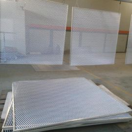 氧化铝板网 喷塑铝板网 吊顶铝板网 铝板网