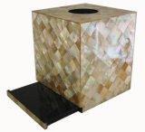 贝壳工艺礼品纸巾盒(E1K002)