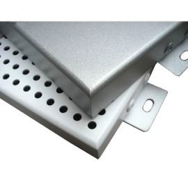 穿孔铝单板规格定制冲孔铝单板装饰天花幕墙