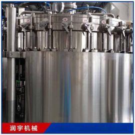 厂家热销玻璃瓶装饮料灌装机生产线 自动灌装机 小型饮料灌装机