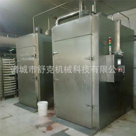 香肠烘干箱节能烟熏机环保红肠熏蒸炉舒克红肠烟熏炉现货供应