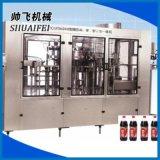 可乐碳酸饮料灌装生产线三合一灌装机