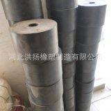防撞橡胶胶墩 防震橡胶柱 耐磨实心高弹橡胶减震器
