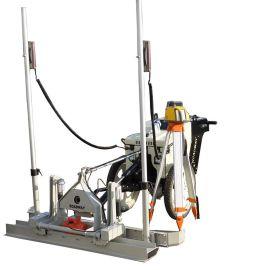 微型激光整平机室内微型整平机路得威纯电动,锂电池,室内施工方便