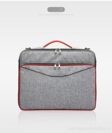 厂家直销 支持来图定制大容量多功能电脑包 单肩便捷耐用电脑包