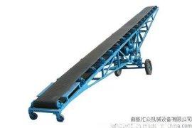 高效率移动式输送机|大型平行式输送带,小麦装卸车用传输带