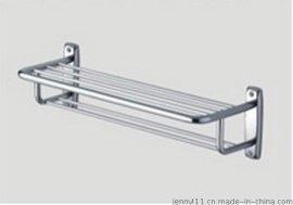 常规600MM双层不锈钢201浴巾架 (HFTR004)