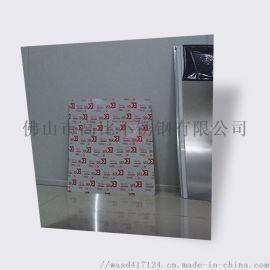镜面黑钛金装饰板 304黑钛金镜面装饰不锈钢板材