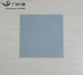 AIN氮化铝陶瓷片114*114*0.385mm耐高温陶瓷承烧板氮化铝基片定制
