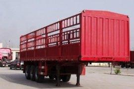 泰达牌13米仓栅式运输半挂车