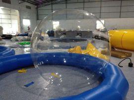 水上步行球 水上跑步球 趣味水上球 透明舞台球