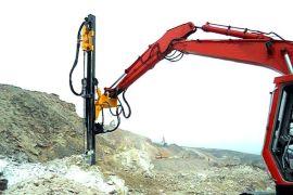 深圳市挖机改装液压凿岩机、劈裂机、潜孔钻机厂家