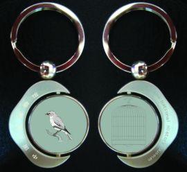 广州专业厂家制作金属钥匙扣定做锌合金钥匙链批发