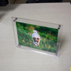 简约亚克力相框,证书框玻璃摆台,相架水晶桌牌