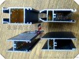 豪華木紋轉印及氟碳噴塗門窗鋁型材
