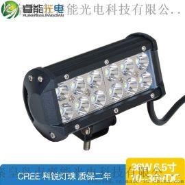 LED工作灯324W?双排LED长条灯 CREE LED汽车灯越野车工程车灯批发