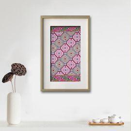 西兰卡普客厅挂画 中国非物质民族文化遗产特色手工艺品 土家织锦壁挂毯