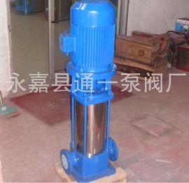 通一GDL型立式管道多级离心泵