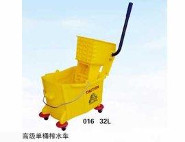 单桶塑料榨水车