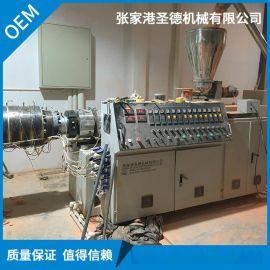 长期供应PVC一出二穿线管 排水管生产线 电力管材生产线