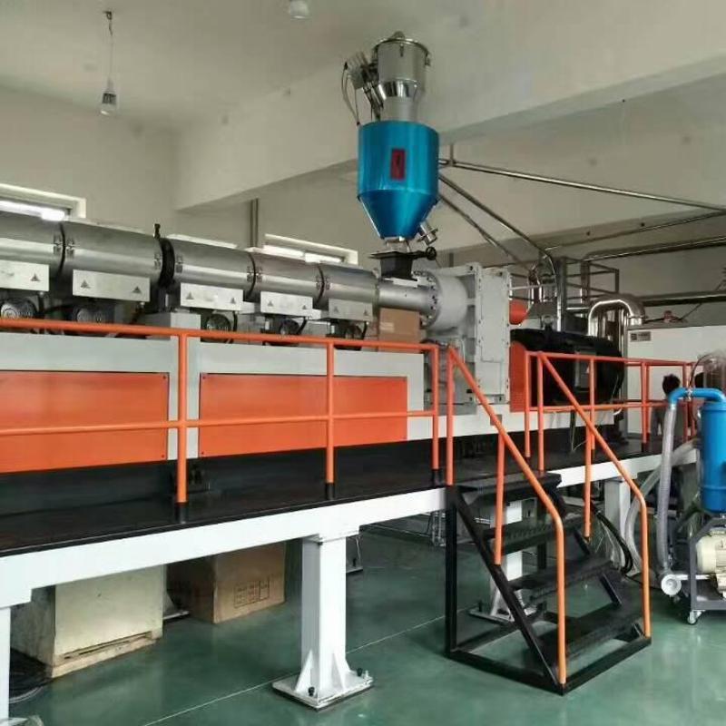 金韦尔制造PP/PE/PET/PS单螺杆挤出机设备