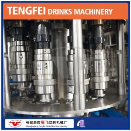【含气饮料灌装机】张家港腾飞机械厂家现货直销 全自动罐装机