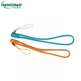 供应手机挂绳硅胶挂绳钱包提手钥匙挂绳硅胶带