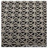 廠家不鏽鋼304衝孔板 陽臺幕牆門牌裝飾穿孔衝孔網多種孔型定做