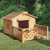 廠家新款寵物屋戶外塑木大型犬狗窩