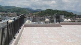 屋頂護欄,屋頂陽臺欄杆,屋頂鐵藝欄杆