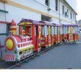 廠家直銷兒童電動軌道遊樂場公園小火車