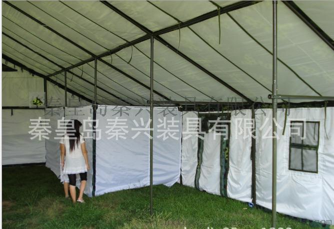 秦兴厂家供应 96型通用指挥棉帐篷 户外多人帐篷