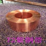 铜带加工 H70铜带 电缆铜带 TU1紫铜带 高精