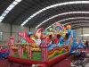 广东惠州订购大型充气城堡新款流行攀岩大滑梯