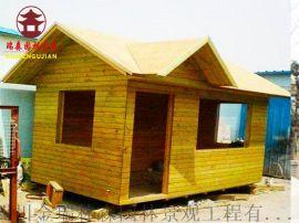 成都厂家定制,环保木屋,防腐木屋