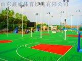 山東硅PU籃球場山東硅Pu球場,丙烯酸球場塑膠球場