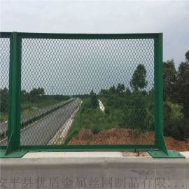 甘肃省生产桥梁防抛网供应防落网浸塑护栏网厂家