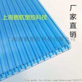河南PC阳光板 8mm中空板 透明阳光板