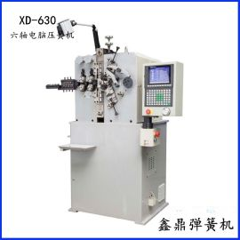 30型高速压簧机_XD-630六轴电脑弹簧机