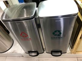 寶雞哪裏有賣學校分類垃圾桶13891913067