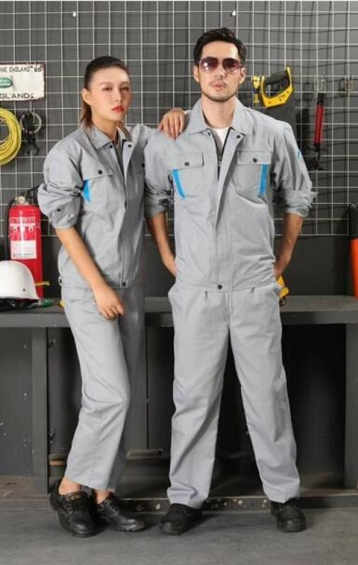 上海红万夏季工作服制服定制 生产  工作服生产