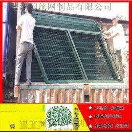 绿色金属防护网铁路栅栏 裕华区绿色金属防护网铁路栅栏销售 安平恺嵘